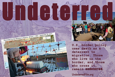 Undeterred Screening and Discussion<br>Thursday, August 1 at 7:00 PM