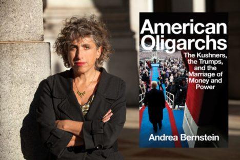 Brooklyn By the Book: Andrea Bernstein, <em>American Oligarchs</em><br>February 6 at 7:30 PM